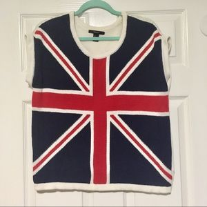 ca528a21280b1d Women s Forever 21 Union Jack Sweater on Poshmark